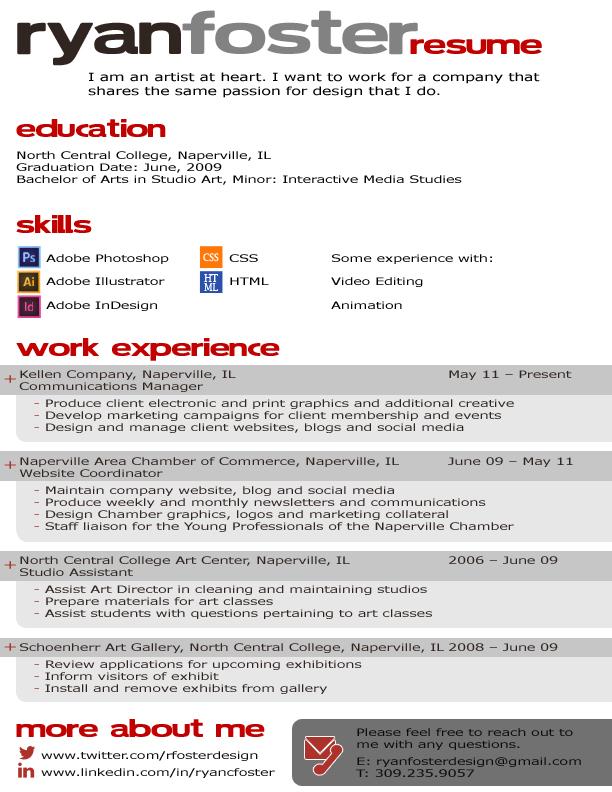 Rfoster_Resume2014