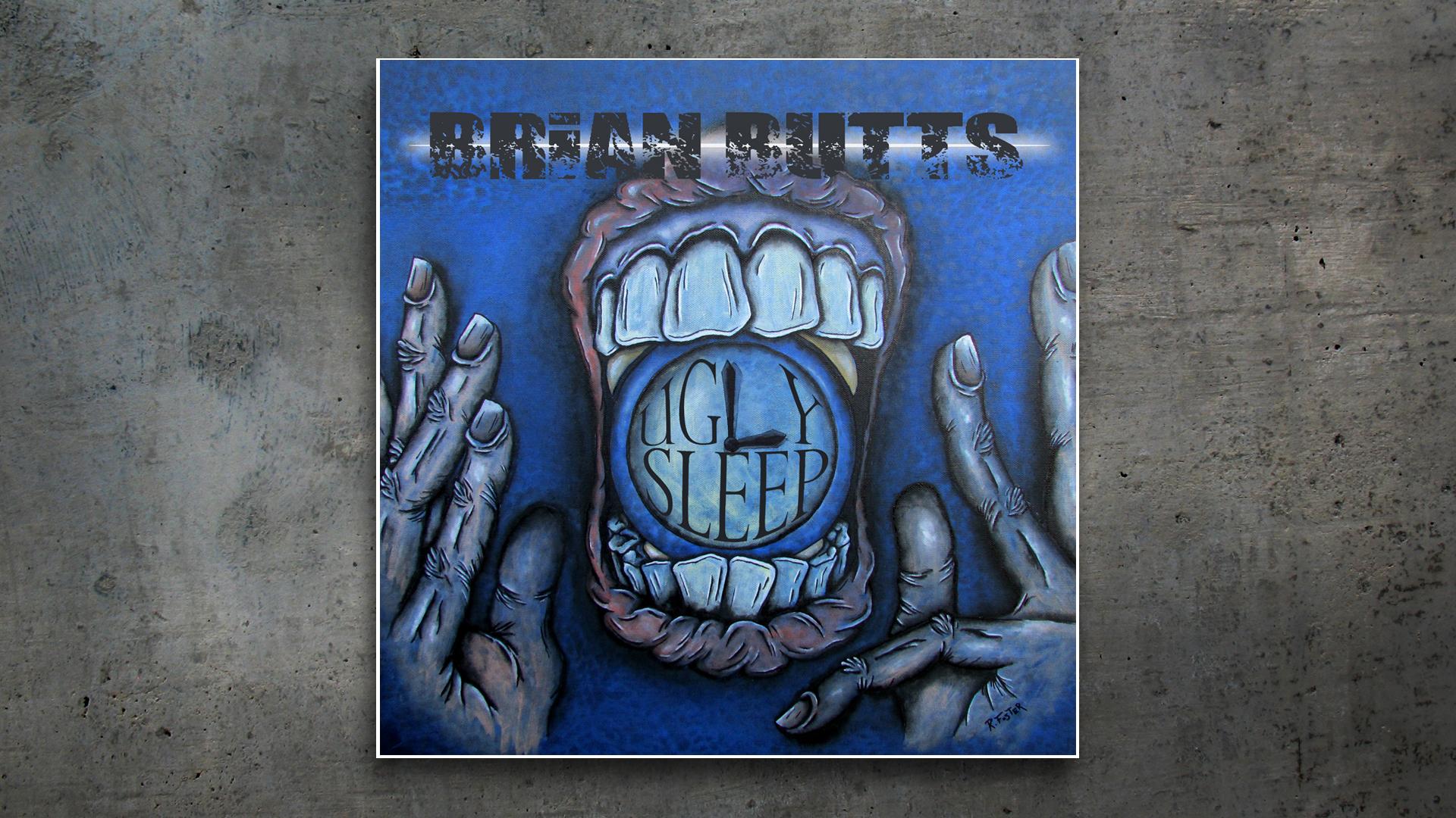 Album Cover Design: Ugly Sleep