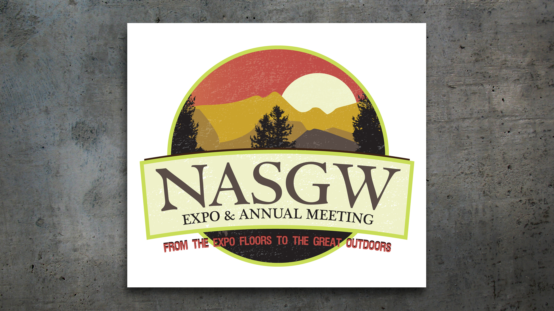 NASGW Expo & Annual Meeting Logo Design