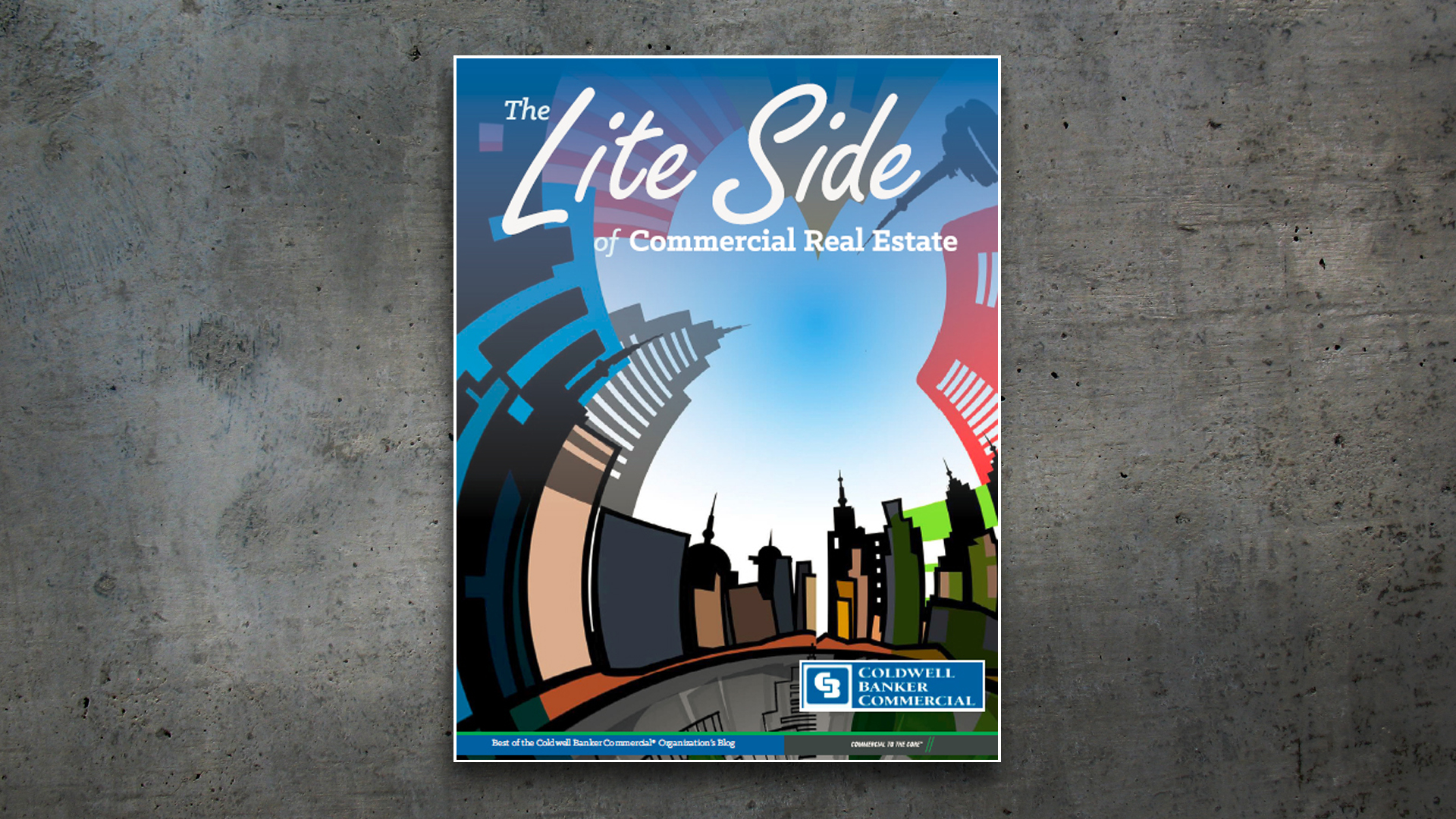 Magazine Layout – The Lite Side of Commercial Real Estate