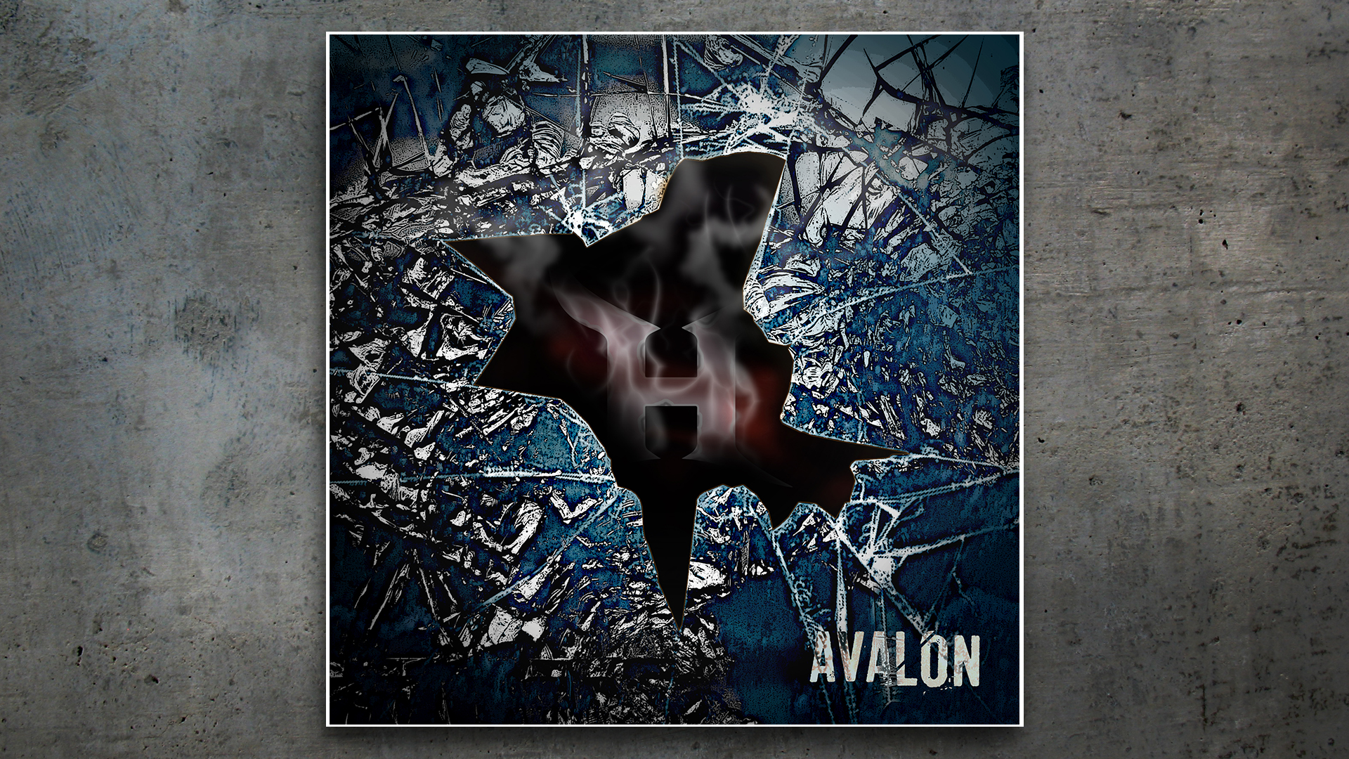 Album Cover Design – HEMI, Avalon