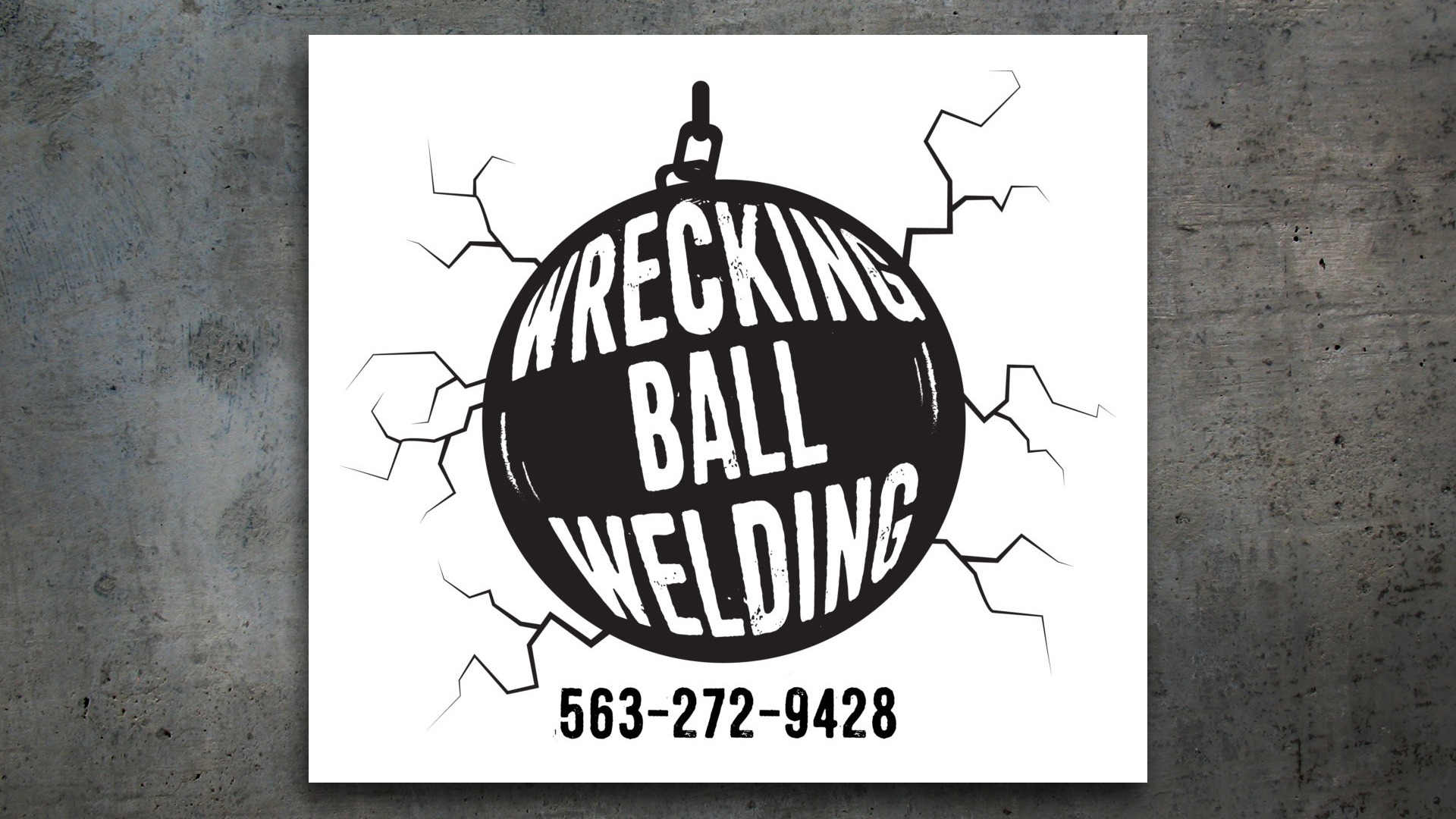New Logo – Wrecking Ball Welding