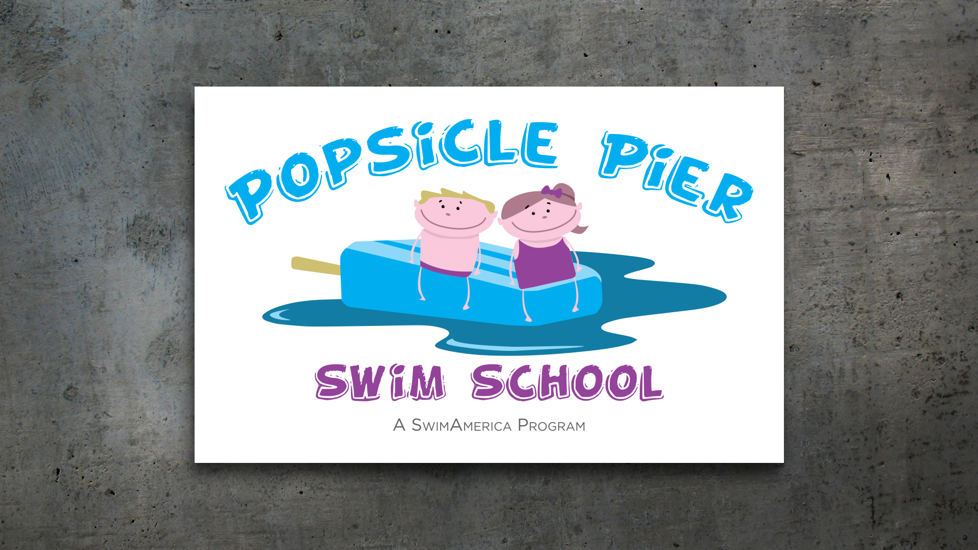 New Logo – Popsicle Pier Swim School