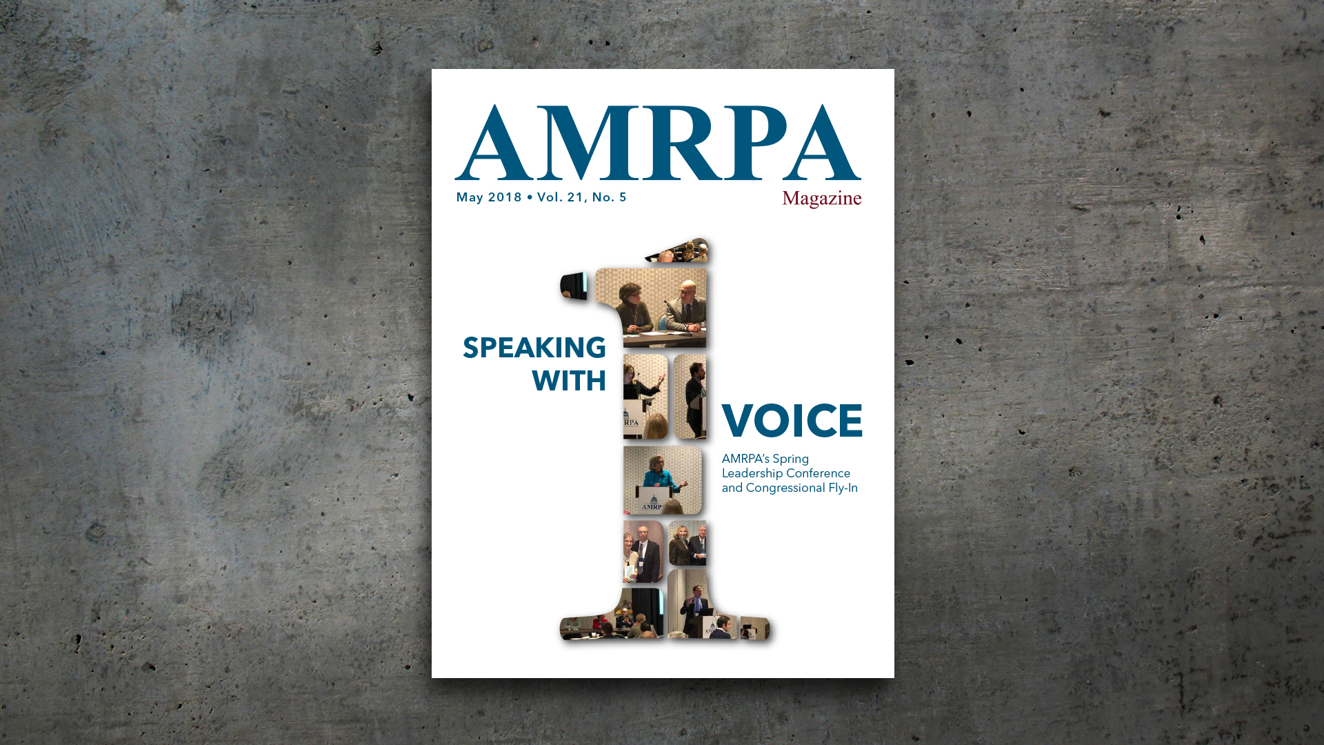 Magazine Layout – AMRPA Magazine