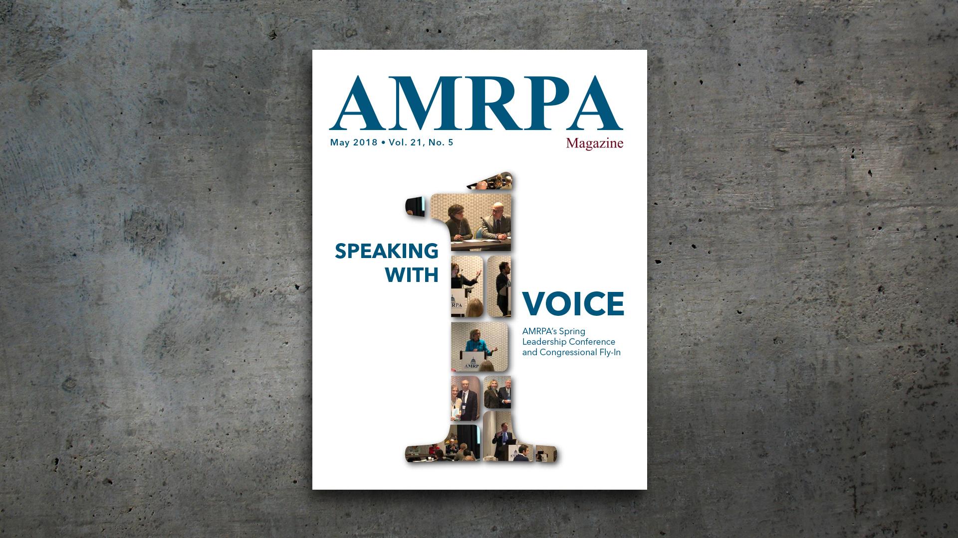 Magazine Layout – AMRPA Magazine